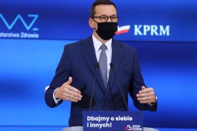 Konferencja Mateusza Morawieckiego