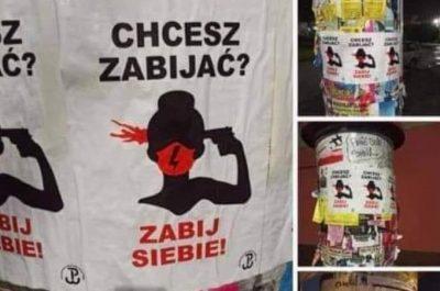 Strajk kobiet plakaty Wodzisław