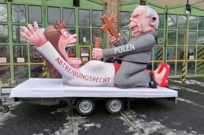 Kaczyński Parada Niemcy