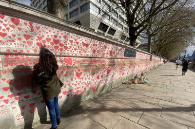 Mur Londyn Covid
